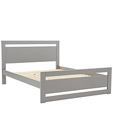 Glover Rectangular Cut Out Panel Bed