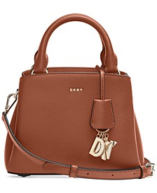 Paige Small Leather Satchel, Created For Macy's