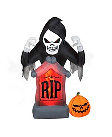 6ft. Inflatable Shaking Grim Reaper