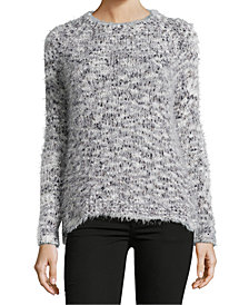 John Paul Richard Petite Eyelash-Knit Sweater