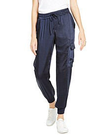 INC Solid Utility Joggers, Created For Macy's