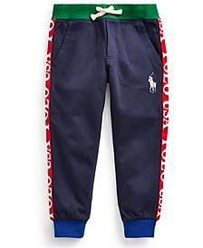 Little Boys Polo USA Cotton-Blend Jogger