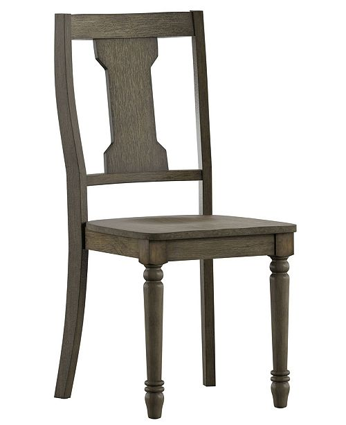 iNSPIRE Q Dawson Reclaimed Splat Dining Chair