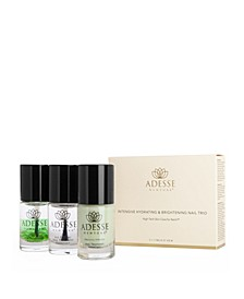 Organic Infused Nail Treatment - Intensive Hydrating and Brightening Nail Trio, 6.6 oz
