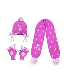Big Girl Ballerina Knitwear Set