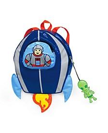 Litle Boy Space Hero Backpack