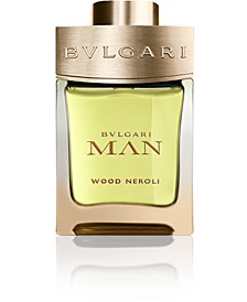 Receive a Complimentary Wood Neroli Deluxe Mini with any large spray purchase from the BVLGARI Man Wood fragrance collection