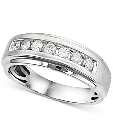 Men's Diamond Channel-Set Band (1/2 ct. t.w.)