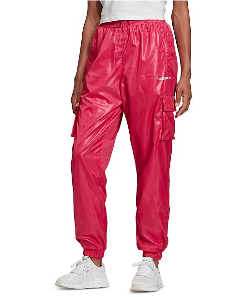 adidas Women's Shiny Cargo Pants
