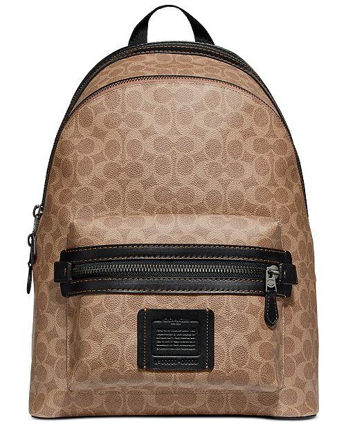 COACH Men's Signature Academy Backpack