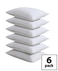 6-Pack 100% Cotton Pillow Protectors, Queen