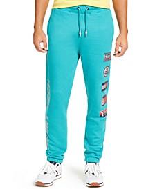 Men's Sport Tech Classic-Fit Logo-Print Fleece Sweatpants
