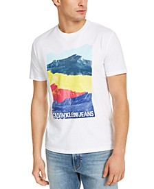 Men's Andy Warhol Stacked Mountain Graphic T-Shirt