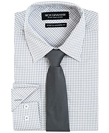Men's Modern-Fit Dress Shirt & Tie