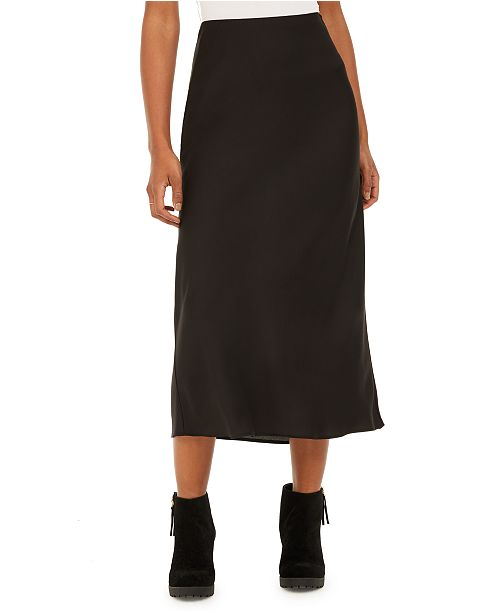 BCX Juniors' Bias Pull-On Midi Skirt