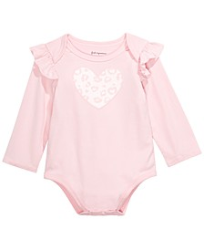 Baby Girls Ruffled Bodysuit, Created For Macy's