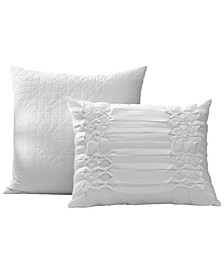 Triple Diamond Two Piece Pillow Set