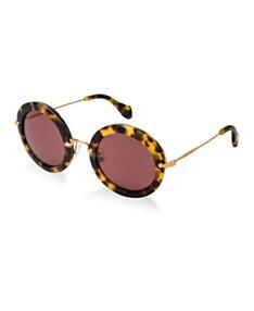 771ed40c82c3 MIU MIU Sunglasses For Women - Macy's