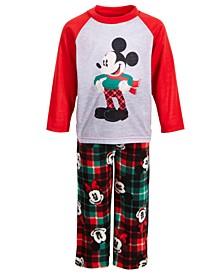Toddler Boys 2-Pc. Mickey Mouse Pajama Set