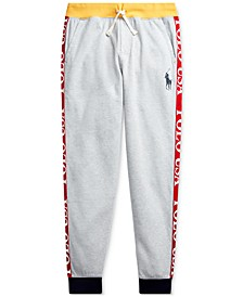 Big Boys Polo USA Cotton-Blend Jogger Pants