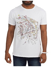 3D Graphic Paint Spatter Native T-Shirt