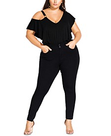 Trendy Plus Size Harley Skinny Jeans