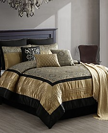 Kosta 10-Pc. Full Comforter Set