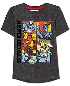 Little Boys Avengers Time T-Shirt