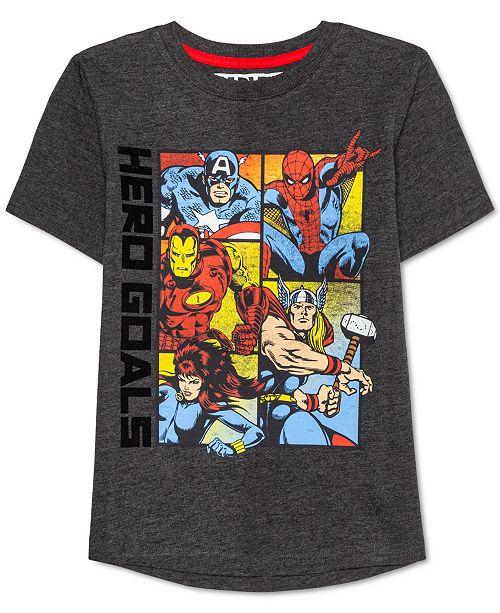 Marvel Little Boys Avengers Time T-Shirt