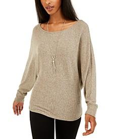 Juniors' Ribbed Sweater
