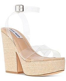 Steve Madden Women's Jina Platform Wedge Sandals