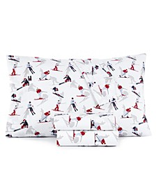 Tommy Hilfiger Skiers Twin Extra Long Sheet Set