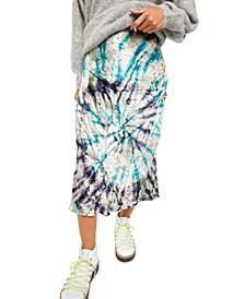 Bali Serious Swagger Tie Dye Maxi Skirt