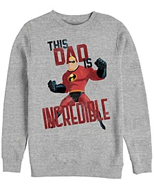 Men's The Incredibles This Dad, Crewneck Fleece