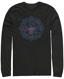 Men's Aladdin Lamp Mandala, Long Sleeve T-Shirt