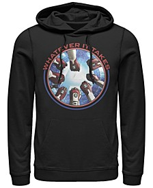 Men's Avengers Endgame Whatever It Takes Fist Bump, Pullover Hoodie