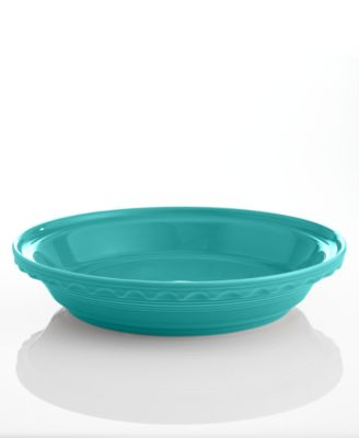 "Turquoise 10.25"" Deep Dish Pie Baker"
