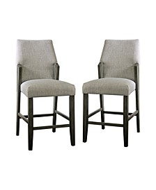 "Juhanna 25.5"" Counter Height Chair (Set of 2)"