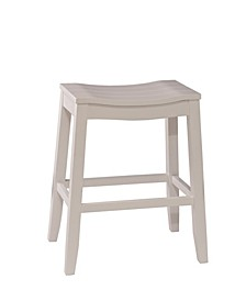 Fiddler Backless Non-Swivel Counter Height Stool