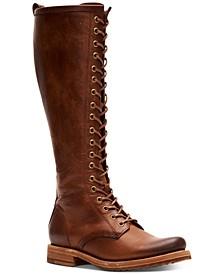 Women's Veronica Combat Boots