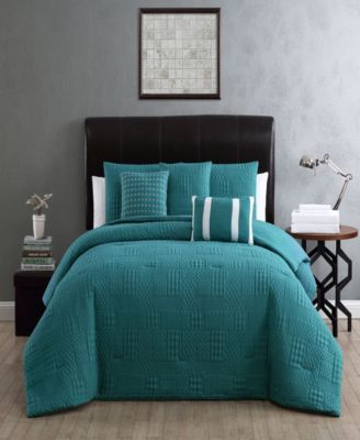 Yardley 10-Piece Embossed King Bedding Set