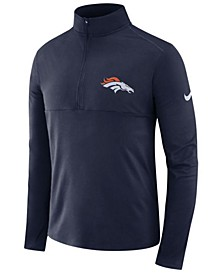 Men's Denver Broncos Core Half-Zip Pullover