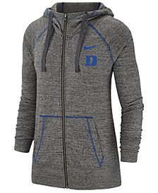 Women's Duke Blue Devils Gym Vintage Full-Zip Jacket