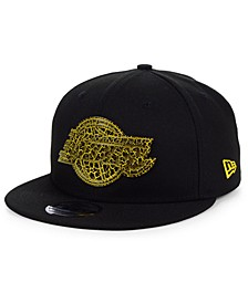 Los Angeles Lakers Metal Crackle 9FIFTY Cap