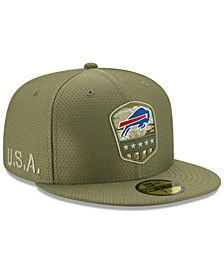 Buffalo Bills On-Field Salute To Service 59FIFTY-FITTED Cap