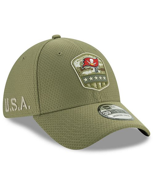 New Era Tampa Bay Buccaneers On-Field Salute To Service 39THIRTY Cap