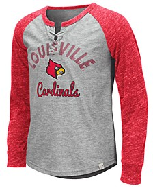 Big Girls Louisville Cardinals Rita Long Sleeve T-Shirt