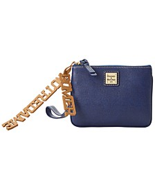 Notre Dame Fighting Irish Saffiano Charm Stadium Wristlet