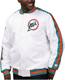 Men's Miami Dolphins The D-Line Starter Satin Jacket