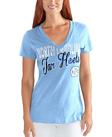 Women's North Carolina Tar Heels Foil Script T-Shirt